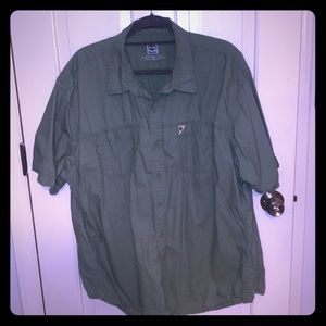 Timberland Short Sleeve Button Down
